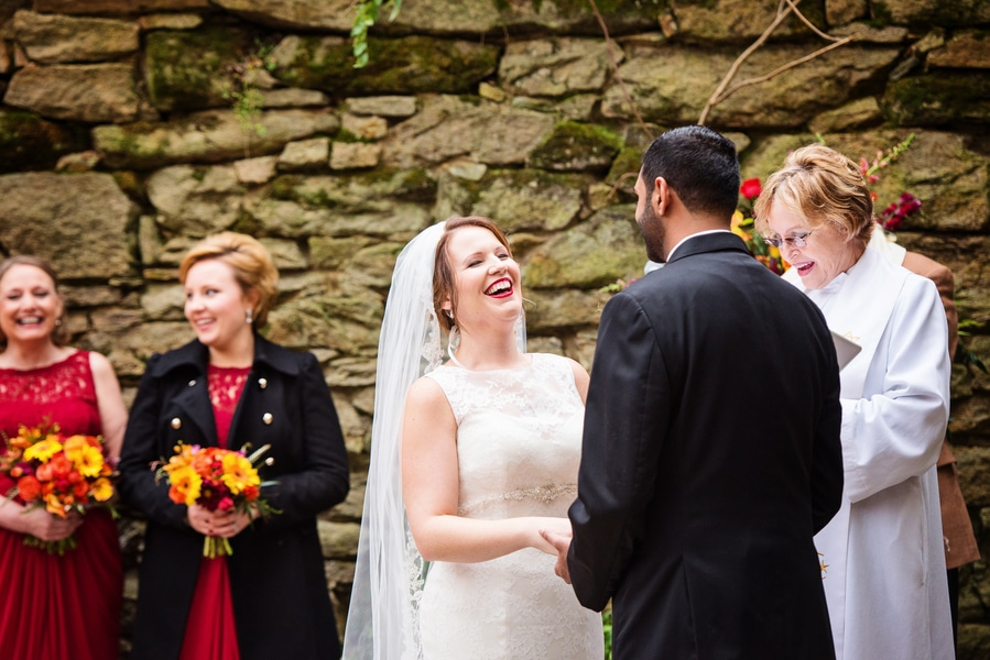 multicultural indian american virginia winery wedding fall themed winery at fine creek (3)