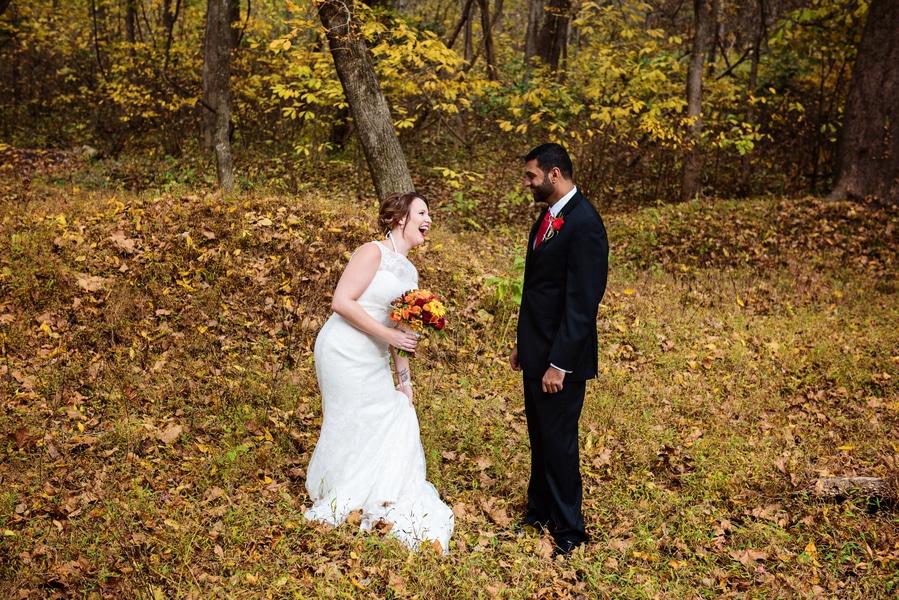 multicultural indian american virginia winery wedding fall themed winery at fine creek (30)