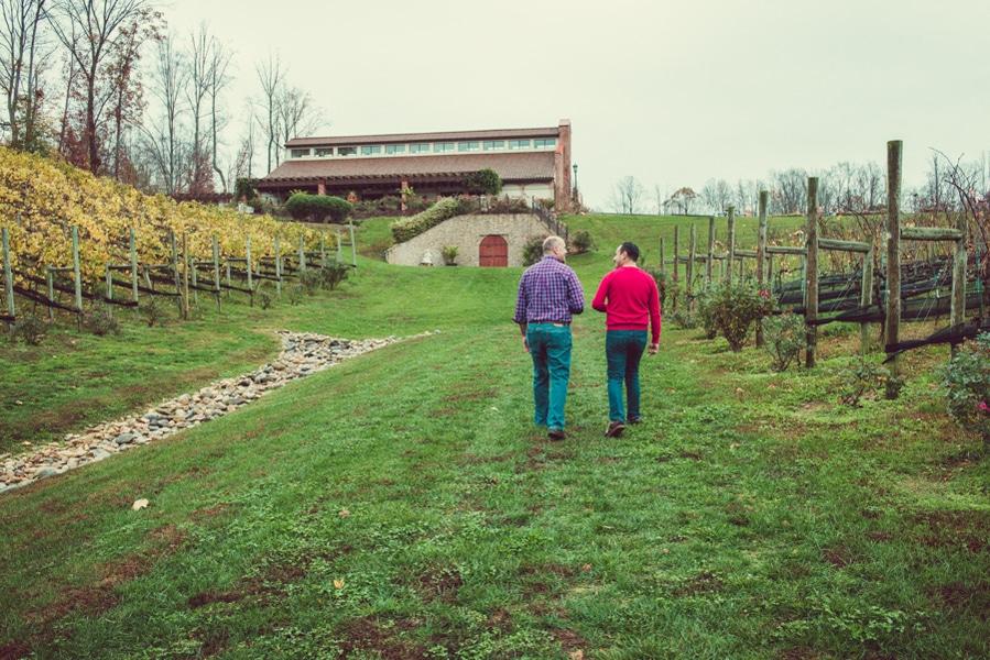 surprise virginia winery proposal same sex (9)