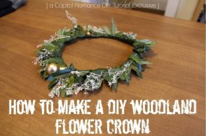 diy flower crown tutorial  (3)