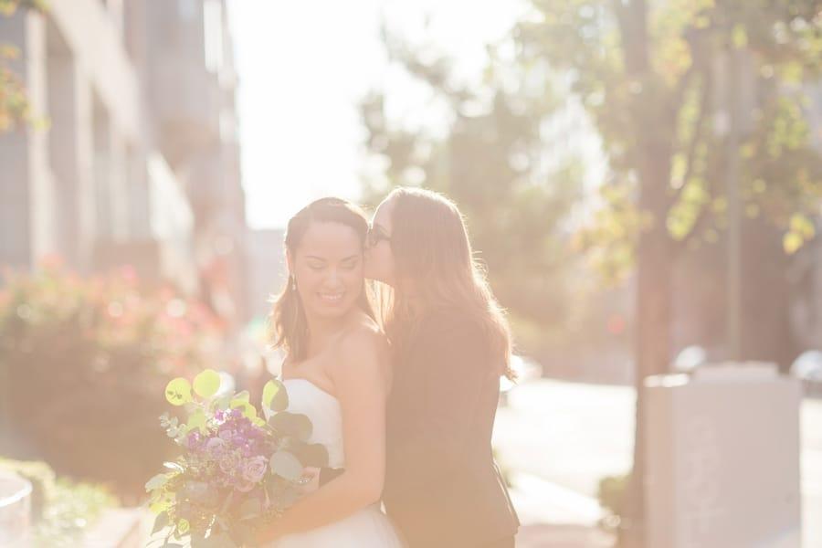 intimate DC elopement romantic purple wedding details decorations (6)
