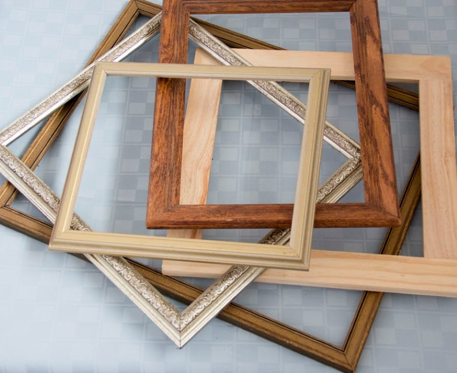 DIY wood frame serving tray tutorial (1)