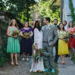 Jade & Jonah's DIY, Festival Themed Wedding Outside DC