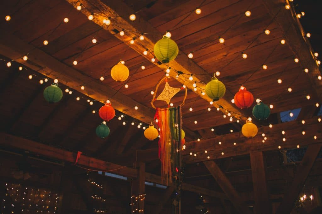 festival themed DIY rainbox colorful west virginia wedding (2)