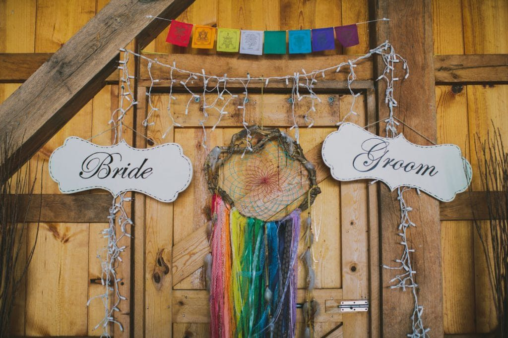festival themed DIY rainbox colorful west virginia wedding (22)