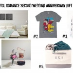 Second Wedding Anniversary Gift Ideas : Cotton, Lily of the Valley & Garnet