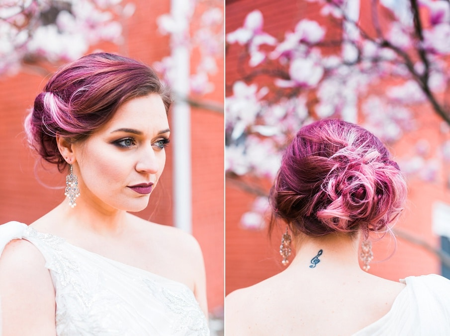 teal purple light pink wedding inspiration details pictures1