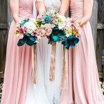 Rose, Eggplant, & Teal Inspired Elopement Styled Shoot