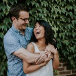Jen & Ryan's Blagden Alley Alternative Washington DC Engagement Pictures