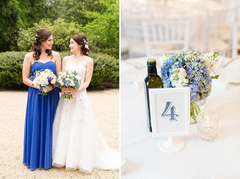 Tudor Place Spring DC Wedding Blue Flowers Garden Ceremony (13)