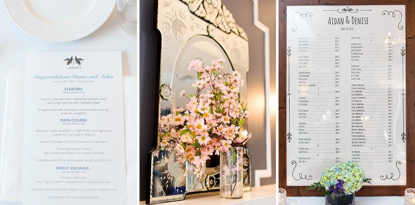 Tudor Place Spring DC Wedding Blue Flowers Garden Ceremony (14)