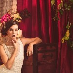 A Dramatic, Vaudeville Inspired Wedding Styled Shoot