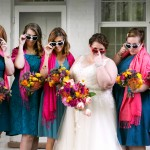 Rebecca & Craig's Super Fun, TV-Themed Wedding Outside Virginia