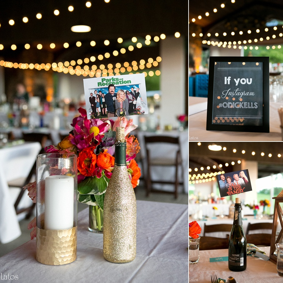 fun stylish tv-themed parks and rec virginia camp wedding7