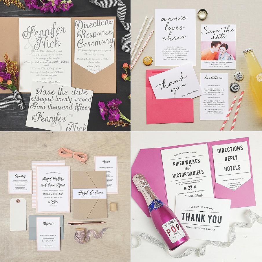 Introducing: Basic Invite ~ Customizable Online Wedding Invites ...
