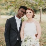 Grace & Tolu's Fall, Backyard Wedding in Maryland