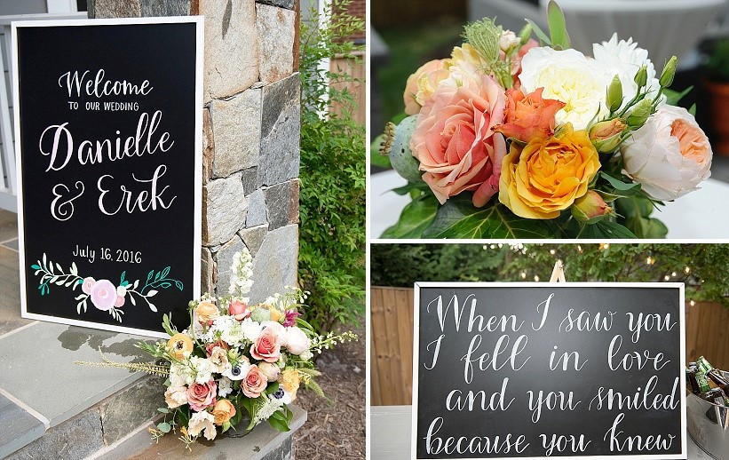 diy-backyard-orange-themed-wedding