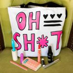 "Enter to win an ""Oh Sh*t"" Tote Bag from the new CapRoShop!"