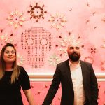 Mel & Matt's Renwick Gallery Engagement Pictures in Washington, DC