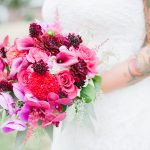 Wedding Inspiration with Berry Tones & Bold Colors