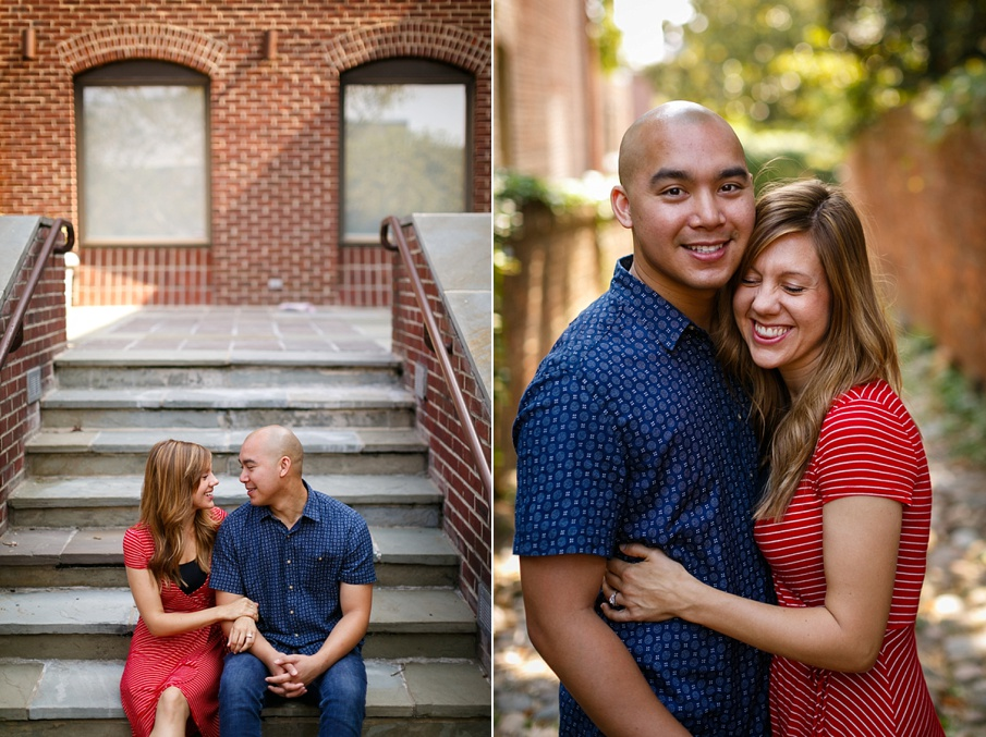 quirky fun casual alexandria virginia engagement pictures1