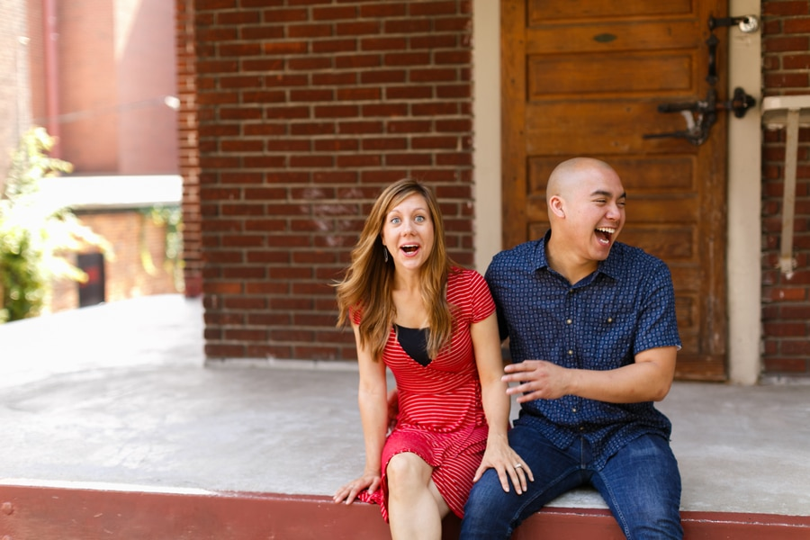 quirky fun casual alexandria virginia engagement pictures5