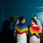 Kristin & Breana's Intimate, Colorful Wedding at Hotel Monaco in Alexandria, VA