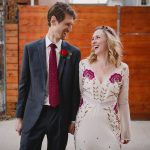 Liz & Gabe's Intimate, Bohemian Inspired Art Gallery Wedding in Washington DC