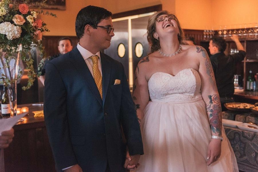 Colva & Jake\'s Intimate, Rad Northern Virginia Wedding at Liberty ...