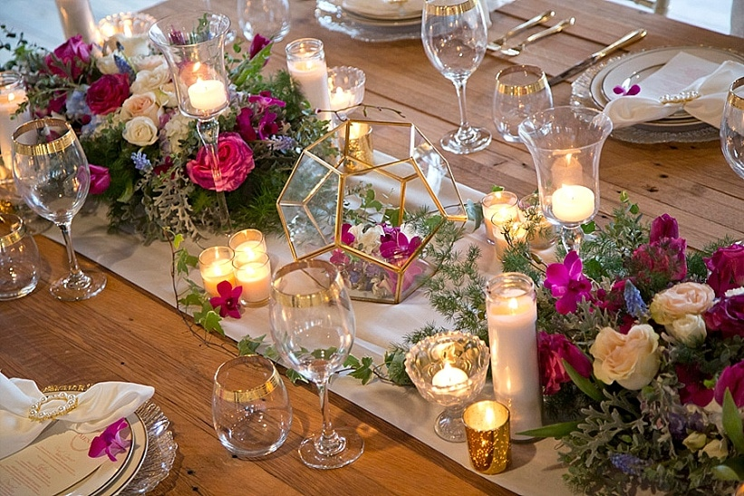 Modern romantic wedding theme gallery wedding decoration ideas rustic romantic wedding decor veenvendelbosch junglespirit Gallery