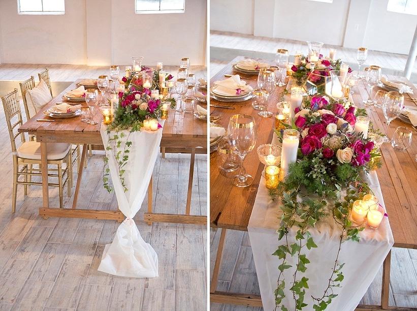 Modern rustic romantic wedding inspiration capitol