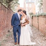 Jeannie & Chris' Intimate, Beautiful November Wedding at Morrison House in Alexandria, VA