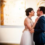 Ryder & Allison's Modern, Industrial DC Wedding at Longview Gallery