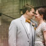 Nancy & Matt's Fun, Urban-Chic, Modern Winery Wedding in Norfolk, Virginia