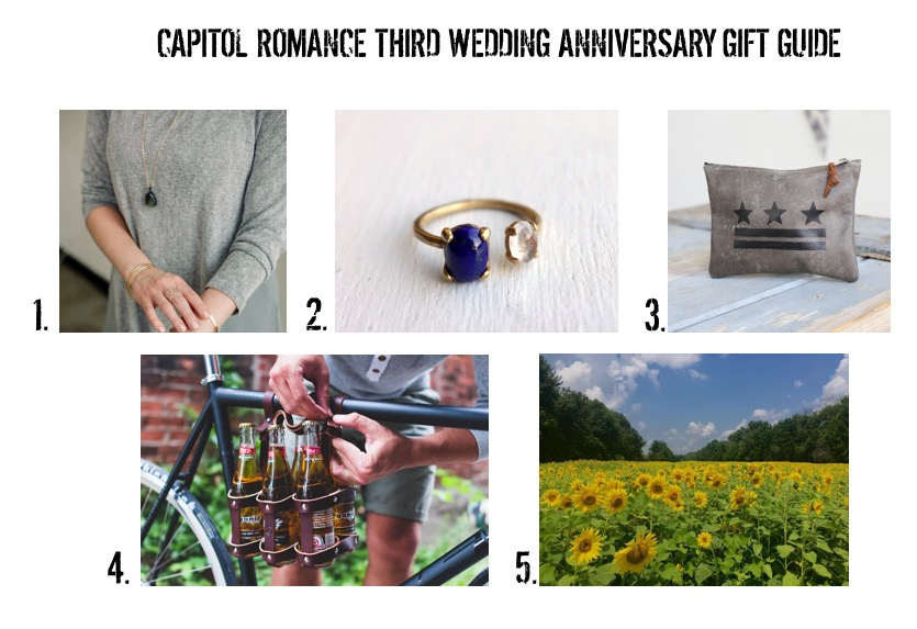 The Lack Of Content Coming In My Inbox These Days When Kara Kindly Reminded Me That She Had Set Up With A TON Wedding Anniversary Gift Guides