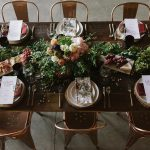Gorgeous, Romantic Urban Industrial Wedding Inspiration at Republic Restoratives in DC