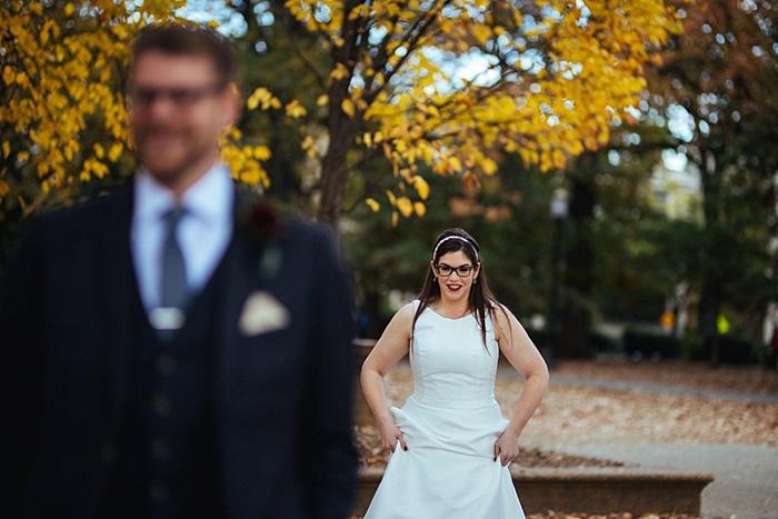 Jenny & Richard's DC Themed, Inclusive, Feminist Wedding at